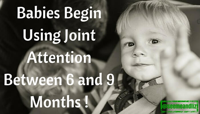 what is joint attention toddler pointing