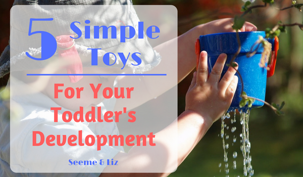 5 Simple Toys Toddlers must have for language development