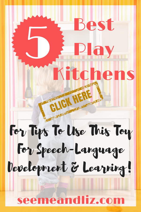 Top 5 Best Kids Play Kitchens For Speech-Language Development & Learning