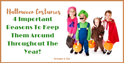 Year round benefits of Kids costumes for halloween