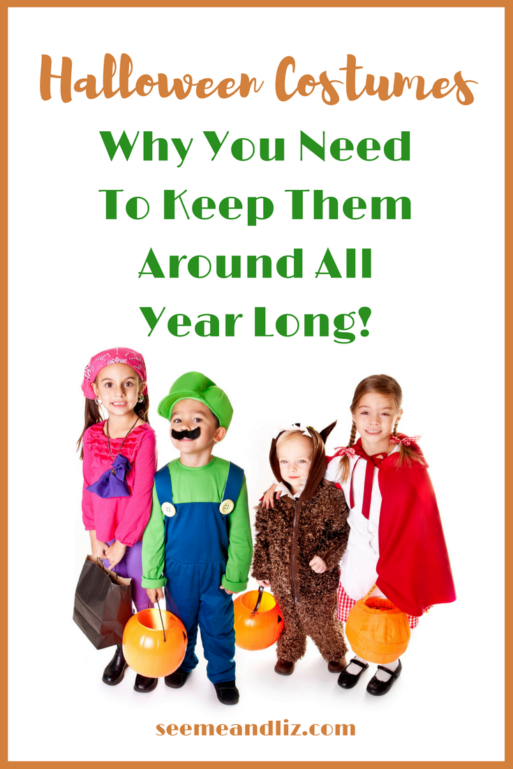 Kids Halloween Costumes should be accessible year round. Here are 4 reasons why!