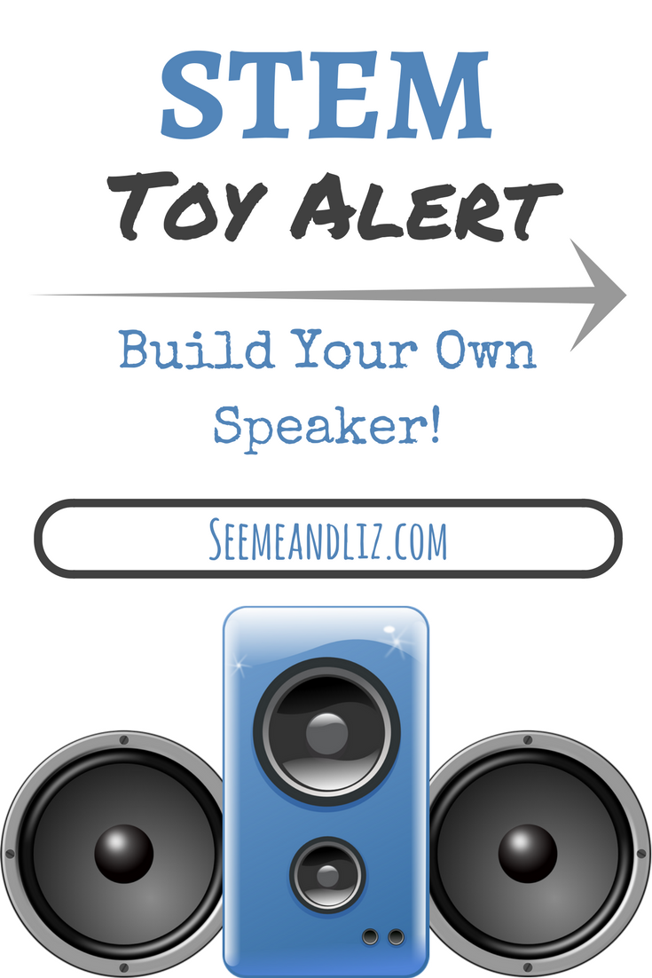 The BOSEbuild speaker cube is a wonderful #STEM toy for school aged kids! Click to learn what makes this DIY toy more than just another toy! #kidsactivities