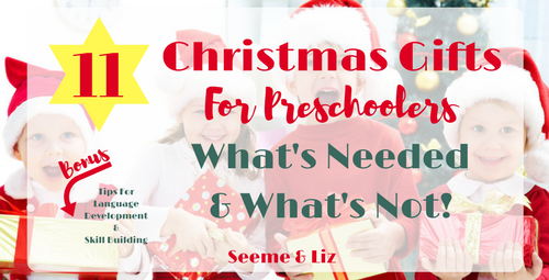 Best Christmas Gifts For Preschoolers