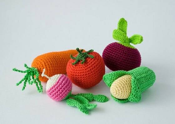 best christmas gift ideas for babies crochet veggie rattles