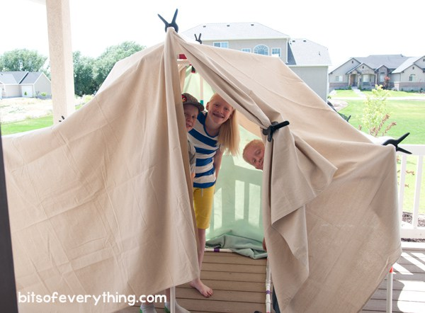 indoor play forts kids love pvc pipe fort