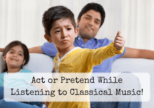 Benefits of classical music for children - inspire pretend play