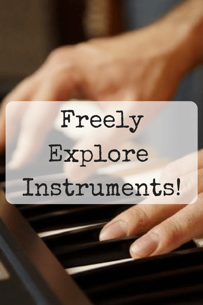 Benefits of Classical Music For Children - freely explore instruments