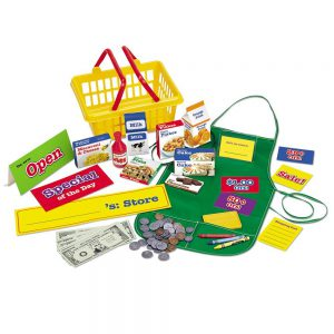 Kids Pretend Market - Learning Resources Pretend & Play Supermarket Set