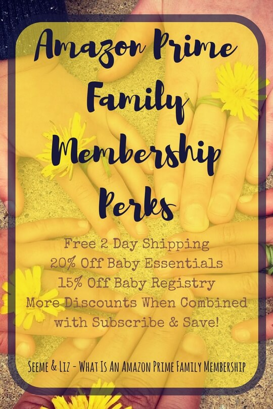 Amazon Prime Family Membership give great perks to families with babies and toddlers. Learn more about it here.