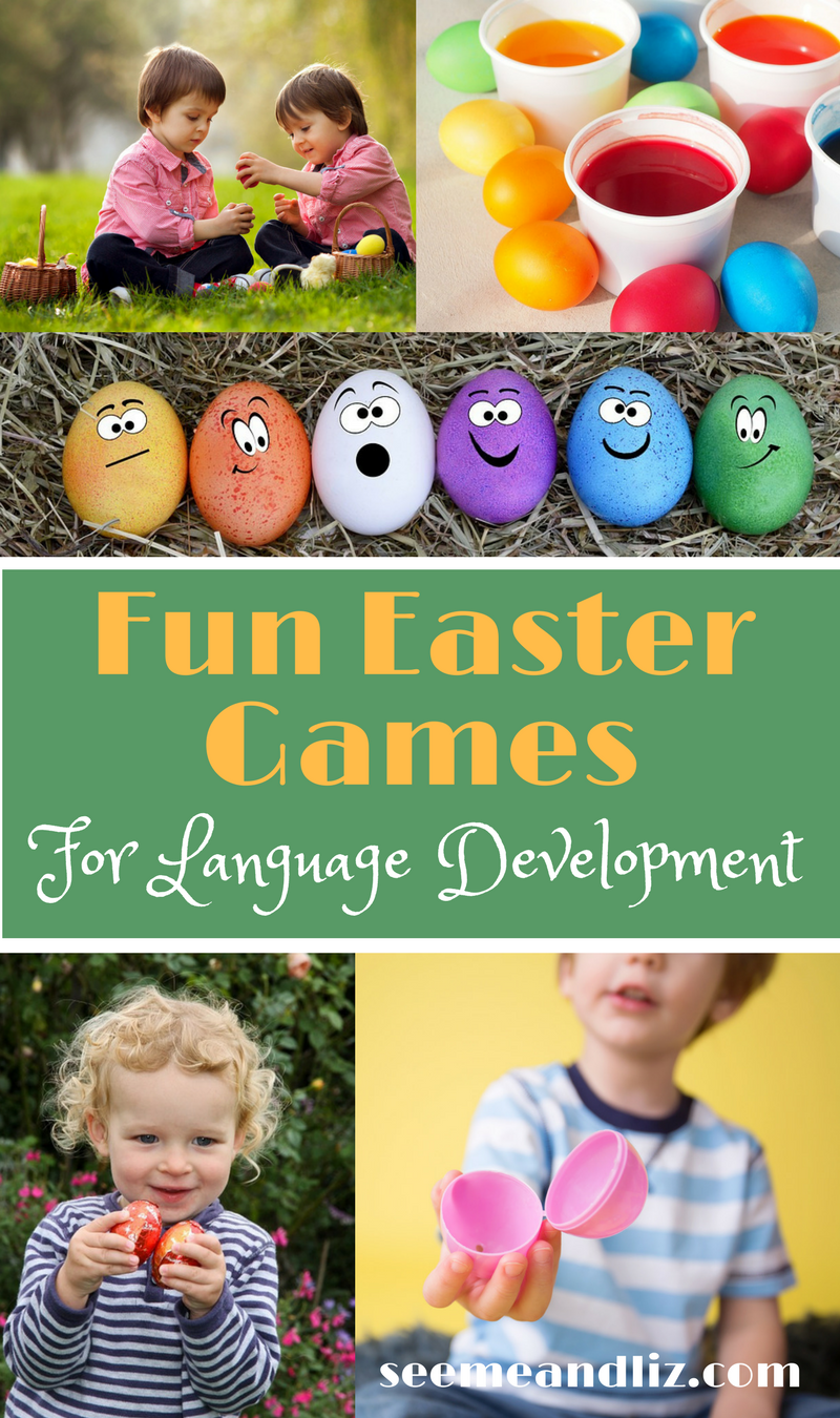 Toddler easter activities with text overlay