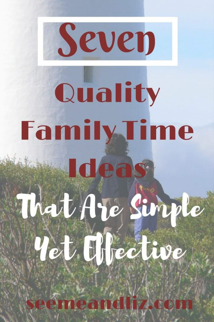 These 7 quality family time ideas are simple and effective. Research is showing the importance of family time for children and their future success