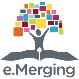 e.merging logo
