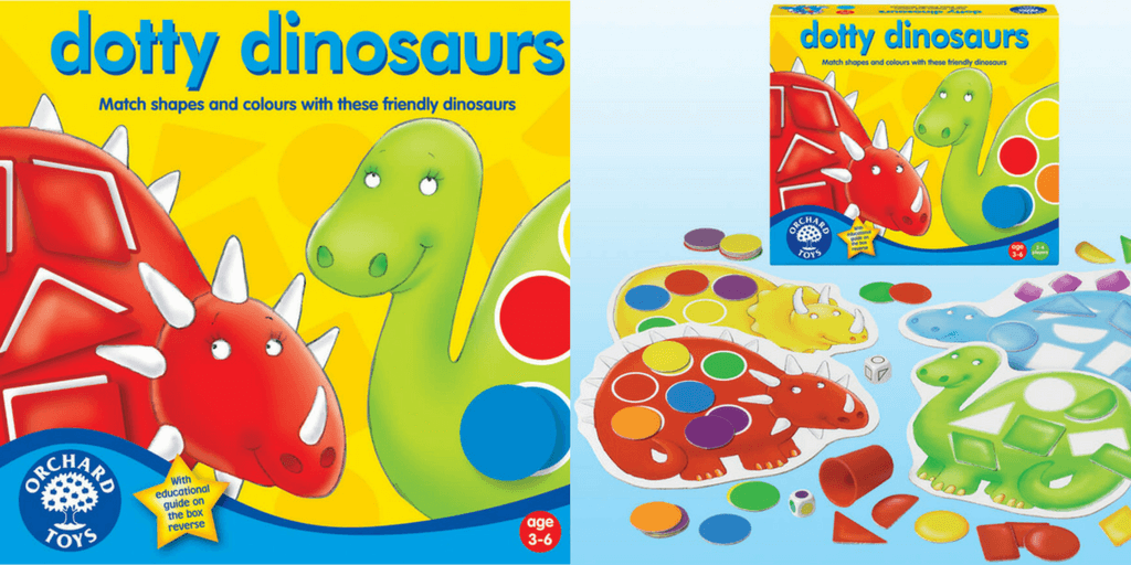 Dotty Dinosaurs Learn Colors Game