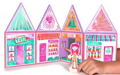 Build & Imagine Draw and Build dollhouse