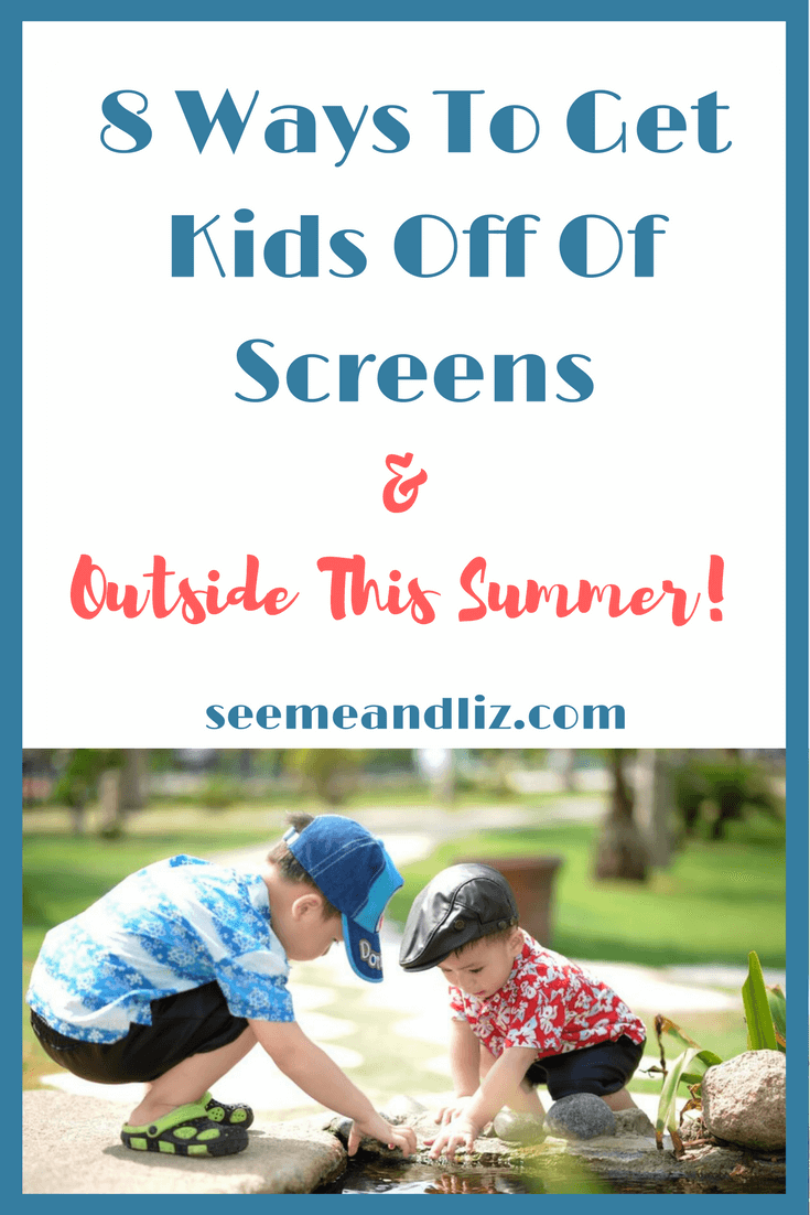 Are your kids glued to their screens? Here are some clever and simple ways to show them there is more to life than what's on the screen