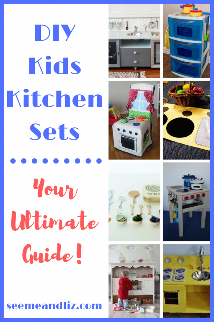 DIY Kids Kitchen Sets Your Ultimate Guide - from grand and elaborate to cute and compact, there is something here for everyone!