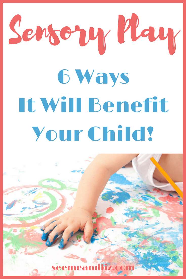 Sensory play has many benefits for babies and toddlers. Here are 6 ways your little one can benefit from sensory play.