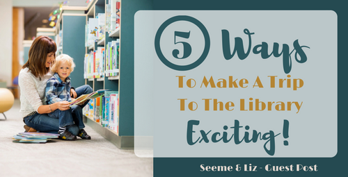 5 Tips For Making a Trip To the Library Fun
