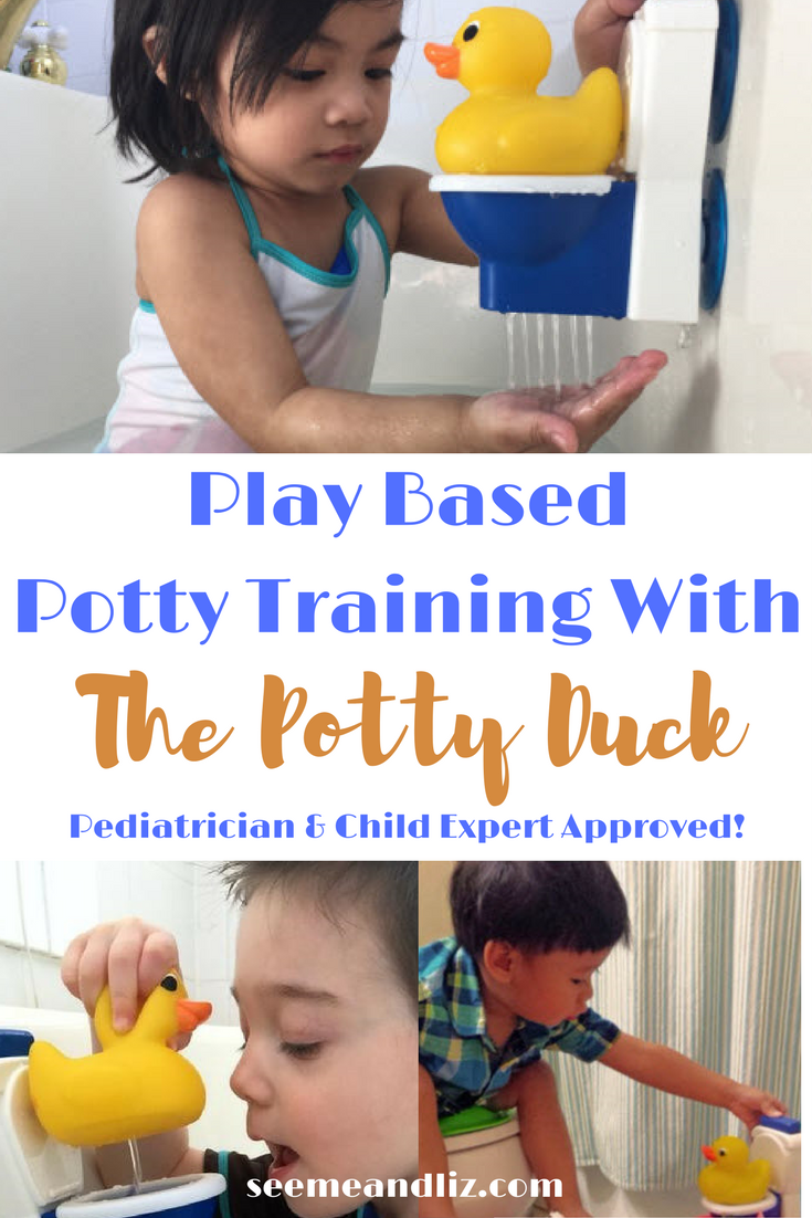 Play Based Potty Training with The Potty Duck. Developed by a pediatrician! {sponsored content}