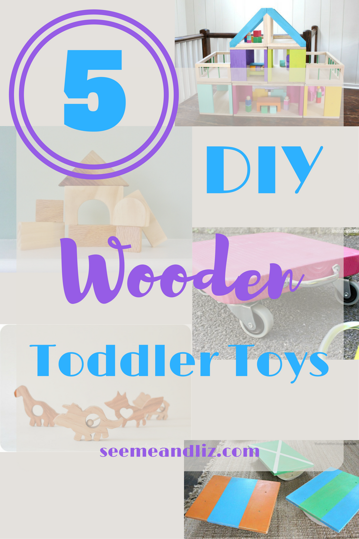 Simple DIY Wooden Toddler Toys Free Instructions!