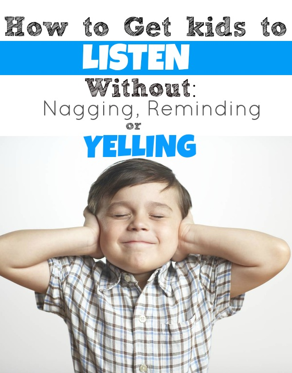 Boy covering ears with text overlay