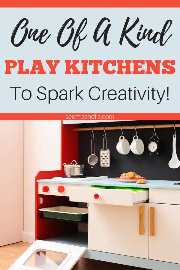 Play kitchens for kids