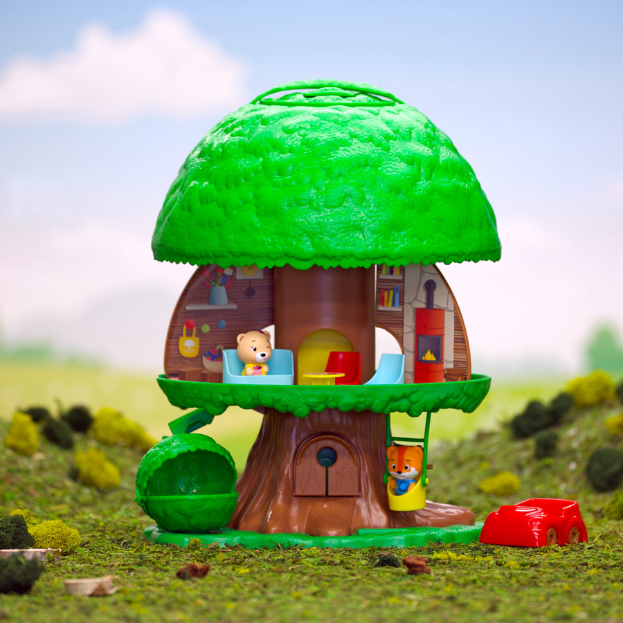 Timer tots tree house fat brain toys